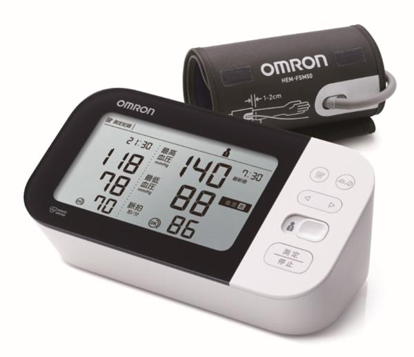 キャンペーン対象商品例 オムロン上腕式血圧計HCR-7601T