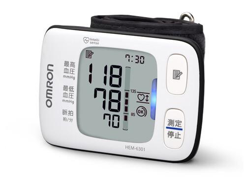 オムロンの血圧測定器