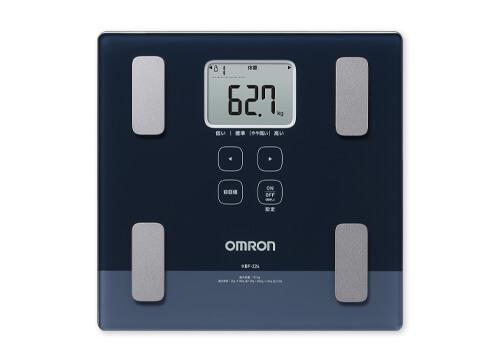 【送料無料】 レッド カラダスキャン [体重体組成計] OMRON HBF-255T-R