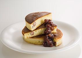 あずきのパンケーキ